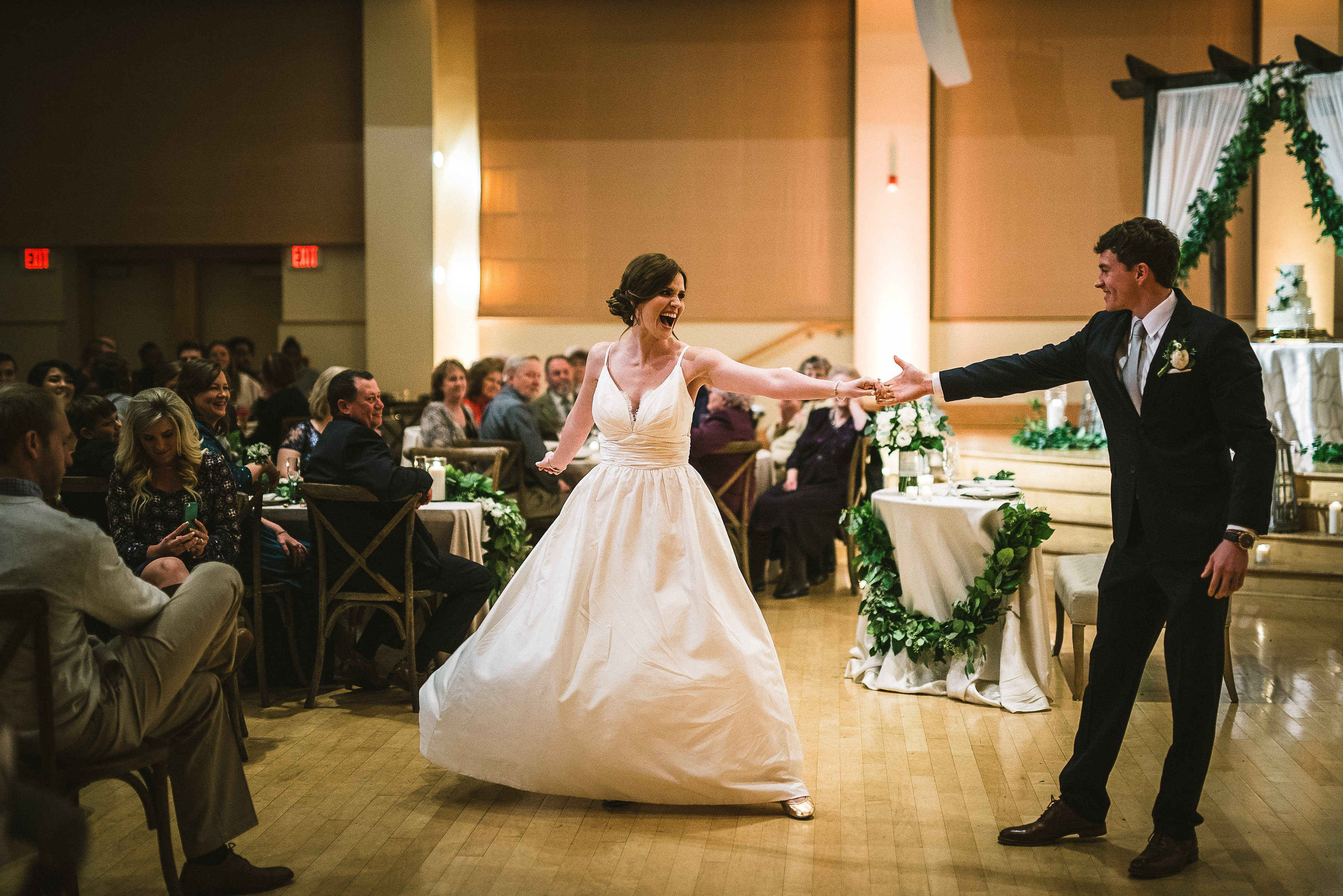 Lyndsey Wesleys Wedding With Triad Dj Events Triad Dj Events