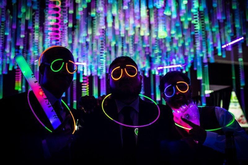 Black Light Event Lighting Triad Dj Events